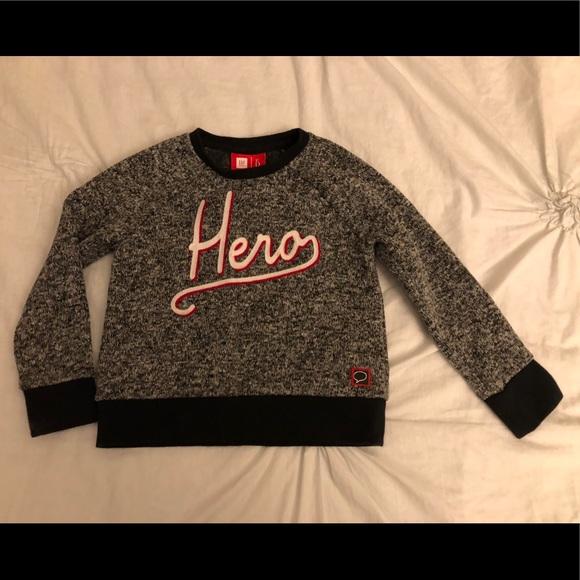 Gap Shirts Tops Kids Ed Ellen Degeneres Hero Sweatshirt Xs 4 5